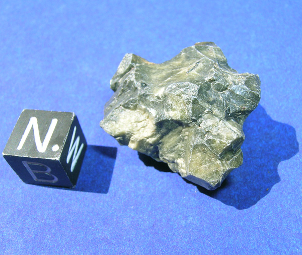 Tatahouine-diogenit. Bardzo nietypowy meteoryt, w zasadzie nie przypominający żadnych innych. Nawet od innych diogenitów wyglądem bardzo znacząco się różni.  Źródło zdjęcia:   http://www.meteoritehunter.com/